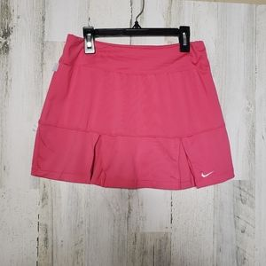 Nike Dri-Fit Tennis Skirt Skort Pink Size Small